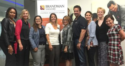 PDD presenters at Brandman